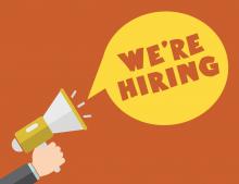 We are hiring -  Background vector created by photoroyalty - www.freepik.com